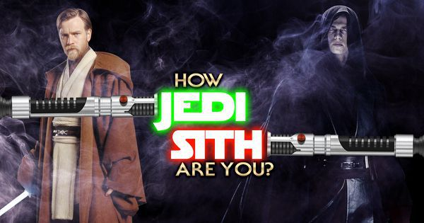 How Jedi Sith are you