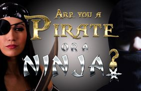 Are You A Pirate Or A Ninja?