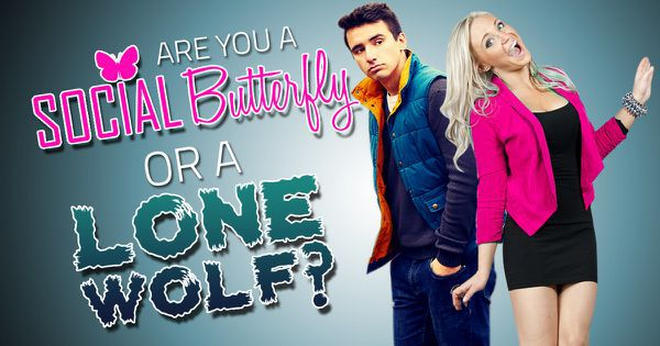 Are You A Social Butterfly Or A Lone Wolf?