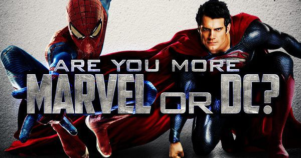 are you more marvel or dc