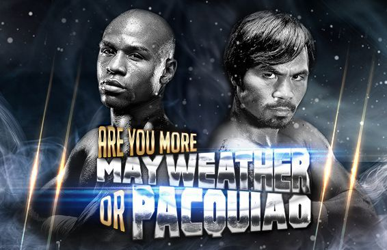 Are You More Mayweather or Pacquiao?