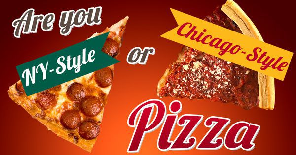 Are You NY-Style Or Chicago-Style Pizza?