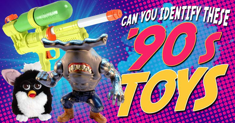 Can You Identify These '90s Toys?