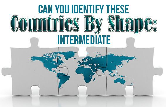 Can You Identify These Countries by Shape: Intermediate