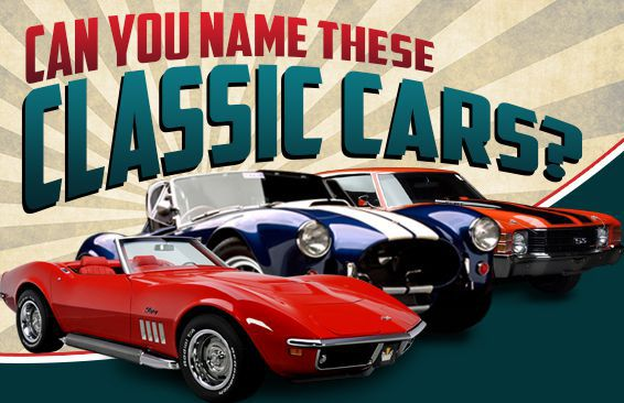 Can You Name These Classic Cars?