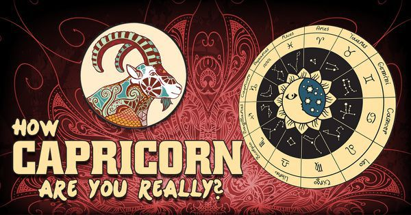 How Capricorn Are You Really?