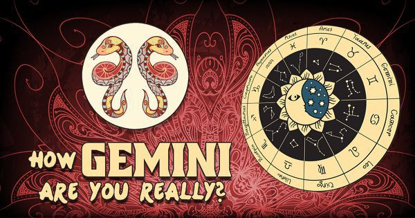 How Gemini Are You Really?