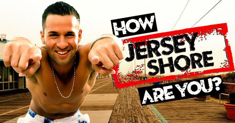 "How ""Jersey Shore"" Are You?"