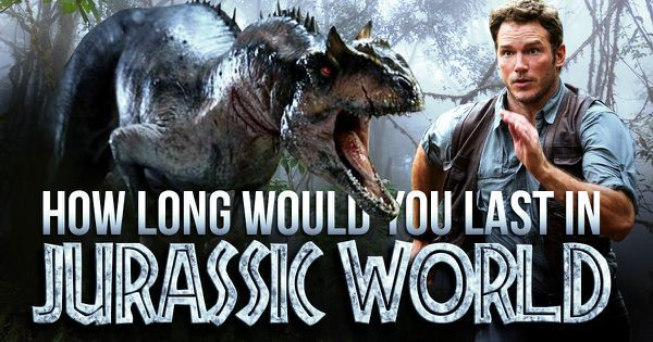 "How Long Would You Last In ""Jurassic World""?"