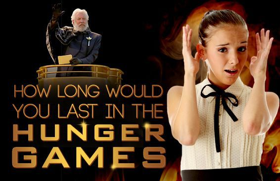 How Long Would You Last In The Hunger Games?
