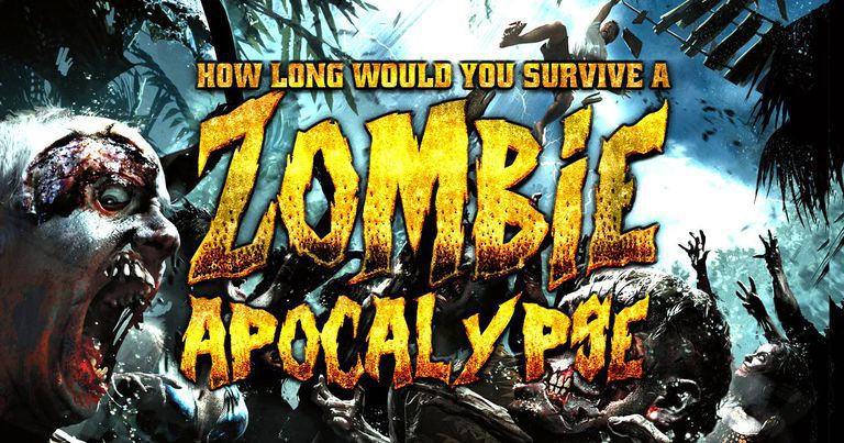 How long would you survive a zombie apocalypse