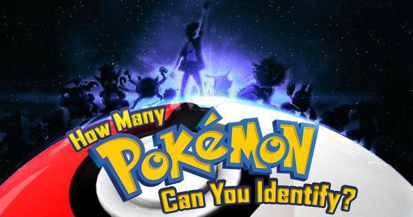 How Many Pokemon Can You Identify?