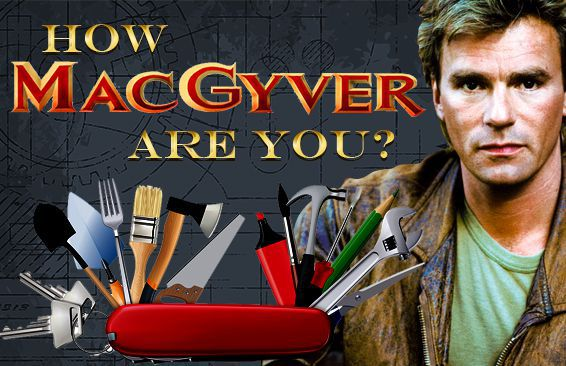 How MacGyver Are You?