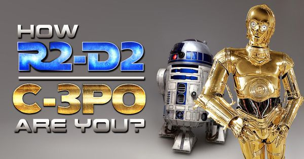How R2-D2/C-3PO Are You?