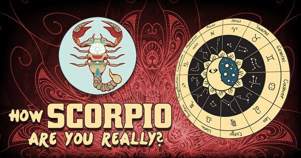 How Scorpio Are You Really?