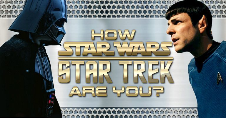"How ""Star Wars""/""Star Trek"" Are You?"