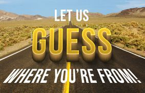 Let Us Guess Where in the U.S.A. You're From!