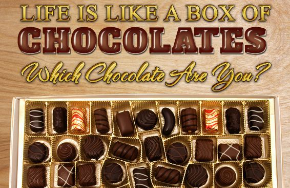 Life Is Like A Box Of Chocolates! Which Chocolate Are You?