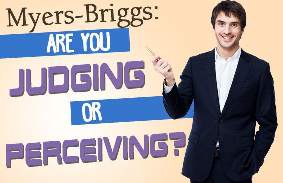 myers briggs are you judging or perceiving