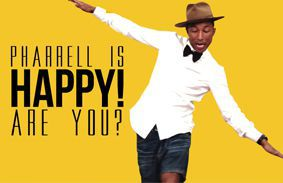 Pharrell Is Happy! Are You?