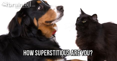 """You are 60% superstitious. That makes you """"Rather Irrational!"""""""