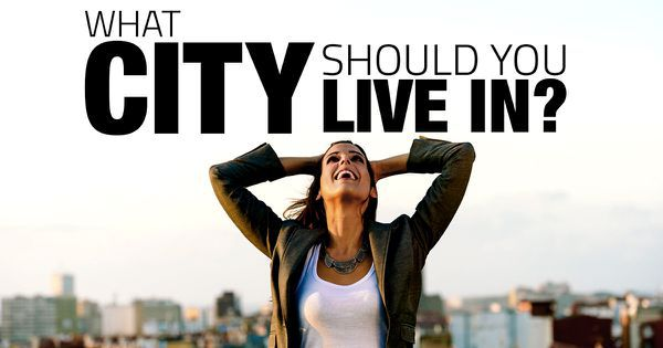 what city should you live in
