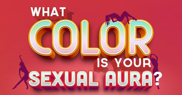 What Color Is Your Sexual Aura?