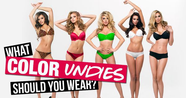 What Color Undies Should You Wear?