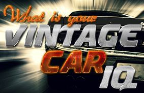 What's Your Vintage Car IQ?