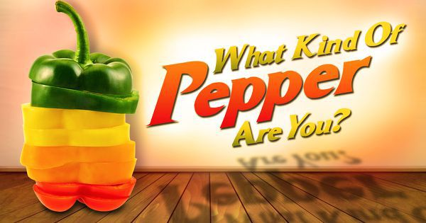 What Kind Of Pepper Are You?