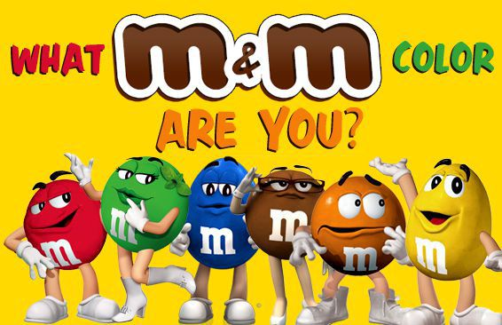 What M&M Color Are You?