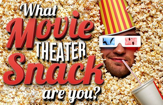 What Movie Theater Snack Are You?