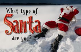 What Type Of Santa Are You?