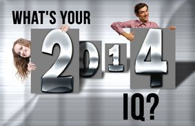 What's Your 2014 IQ?