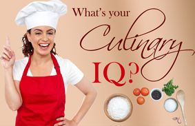 What's Your Culinary IQ?