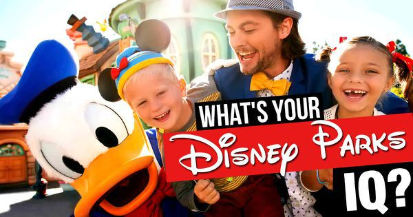 What's Your Disney Parks IQ?
