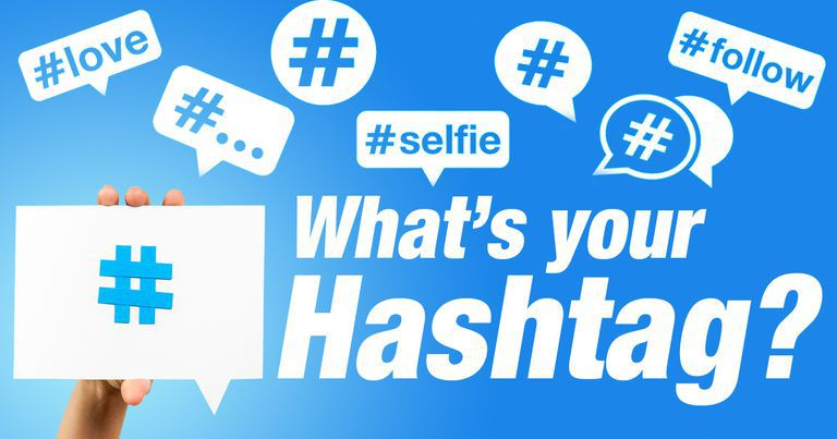 Whats your hashtag