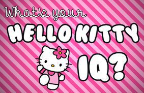 What's Your Hello Kitty IQ?