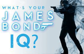 What's Your James Bond IQ?