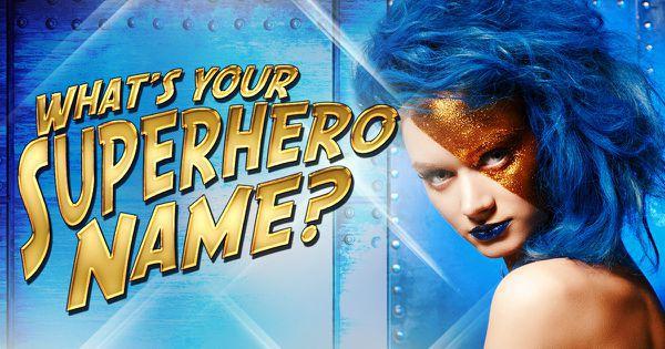 whats your superhero name