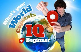 What's Your World Capitals IQ: Beginner