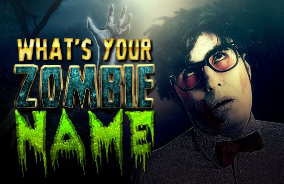 What's Your Zombie Name?