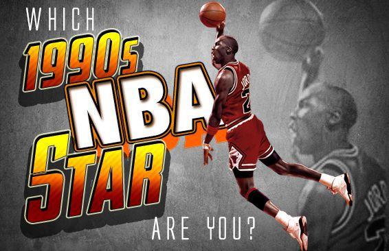 Which 1990s NBA Star Are You?