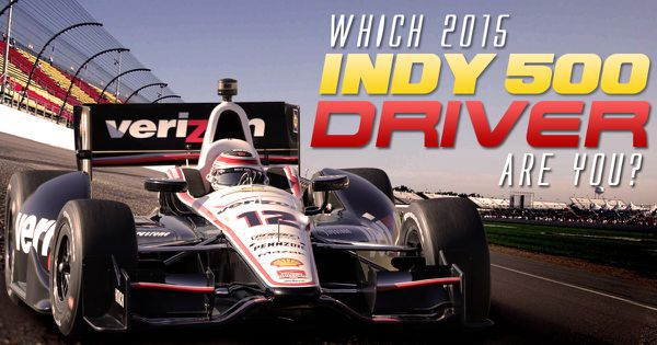 Which 2015 Indy 500 Driver Are You?