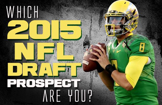 Which 2015 NFL Draft Prospect Are You?