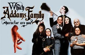 Which Addams Family Character Are You?