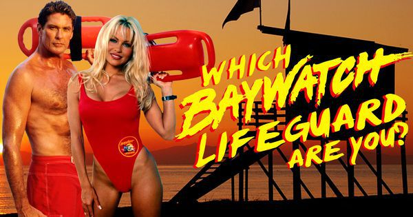 "Which ""Baywatch"" Lifeguard Are You?"