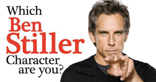 Which Ben Stiller Character Are You?