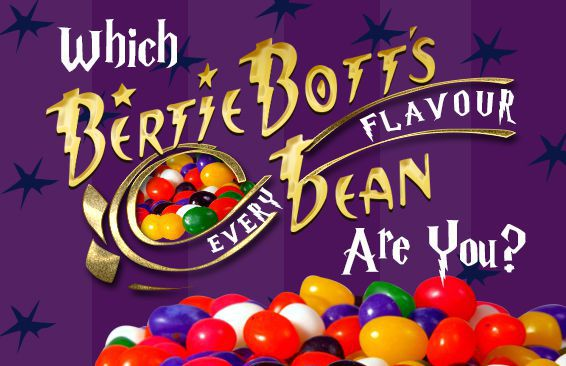 Which Bertie Bott's Every Flavour Bean Are You?