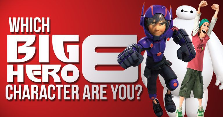 Which of the Big Hero 6 Characters Are You?